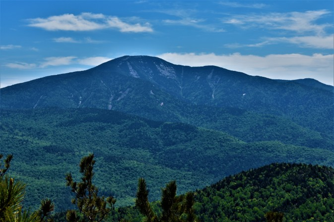 View of Giant Mt. from Rooster Comb Mt., Keene Valley, NY