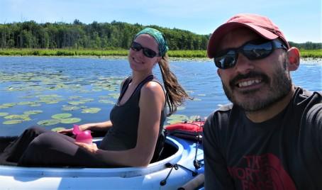 Kayaking Round Lake, NY