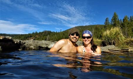 Hot Springs at Paulina Lake, OR